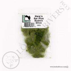 HARE'S EAR PLUS Hareline Olive Pack