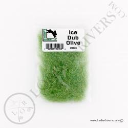 Ice Dub Hareline Olive Pack