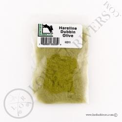 Dubbing de lèvre Hareline Dubbin Olive Pack