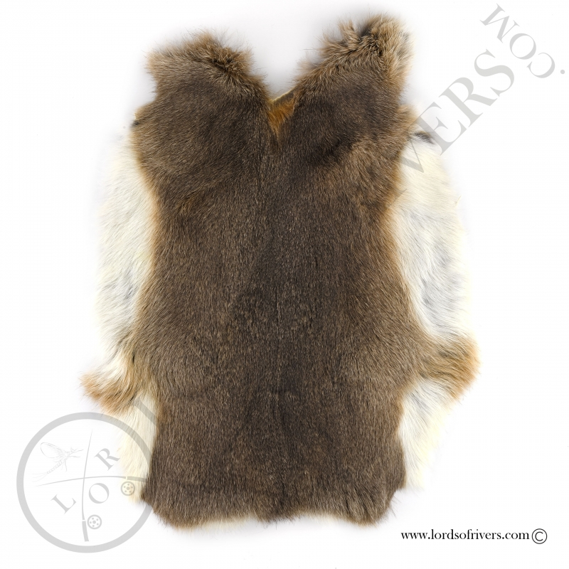 Soft tanned rabbit skin Lords Of Rivers 1