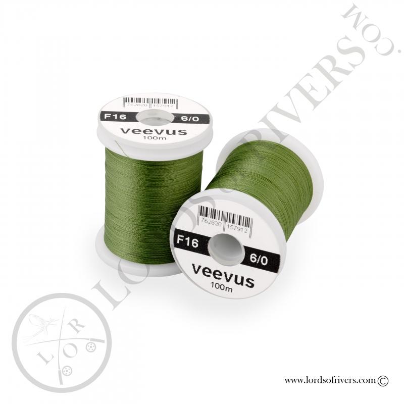 Soie de montage Veevus 6/0 Olive