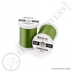 Soie de montage Veevus 10/0 Olive