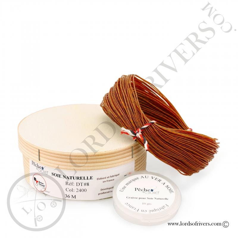 Natural Silk double taper (DT) 36m Pêche à soie