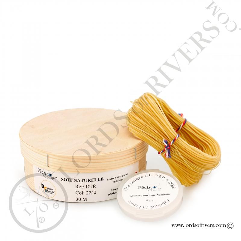 Natural Silk double taper (DTR) 30m Pêche à soie