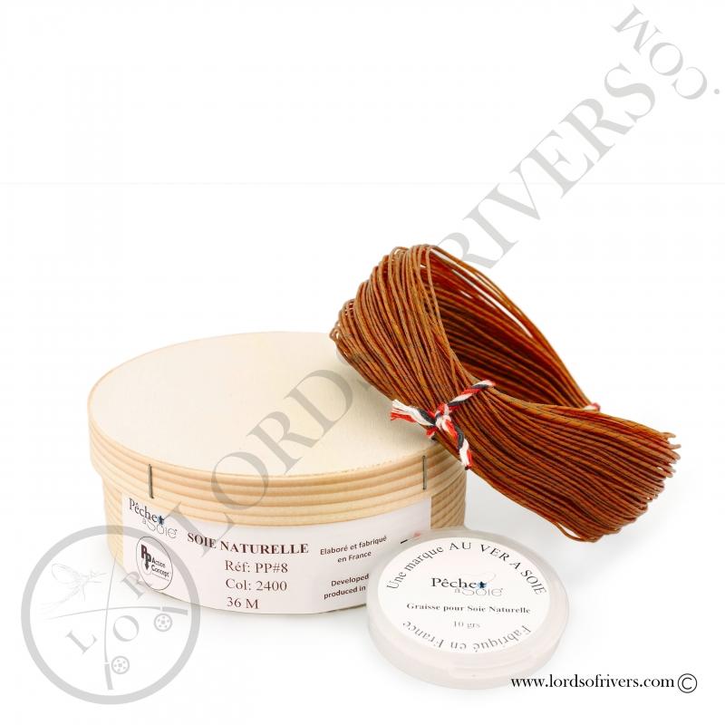 copy of Natural silk Progressive taper (PP) Pêche à soie 30 meters
