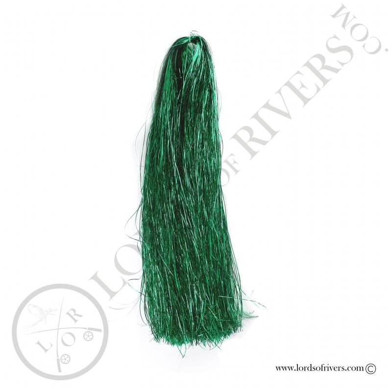 Flashabou 1mm 1/16 monocolor 90cm Deep Green