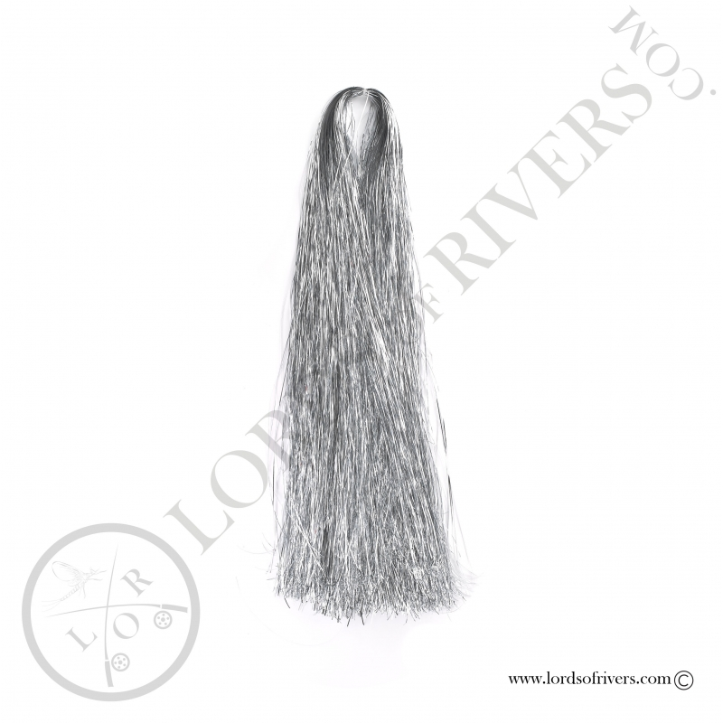 Flashabou 1mm 1/16 monocolor 35.44 inch Silver