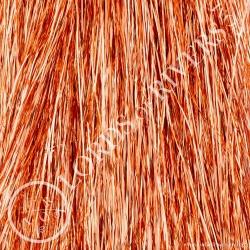 Flashabou 1mm 1/16 monocolor 35.44 inch Copper