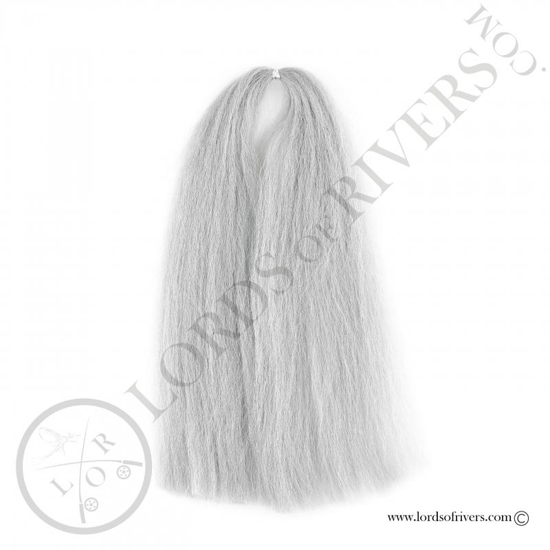 EP Silky Fiber 40 cm Silver