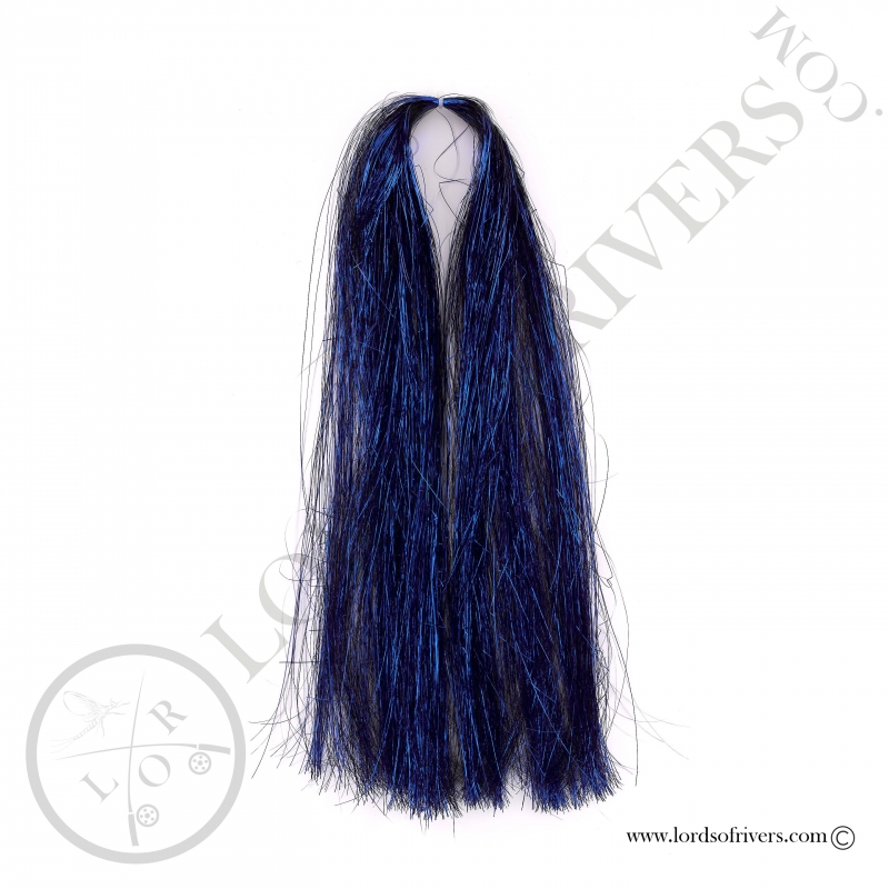 Flashabou Thin 60 cm / 23.62 in Lords Of Rivers Deep Blue