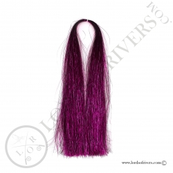 Flashabou Thin 60 cm / 23.62 in Lords Of Rivers Fuschia