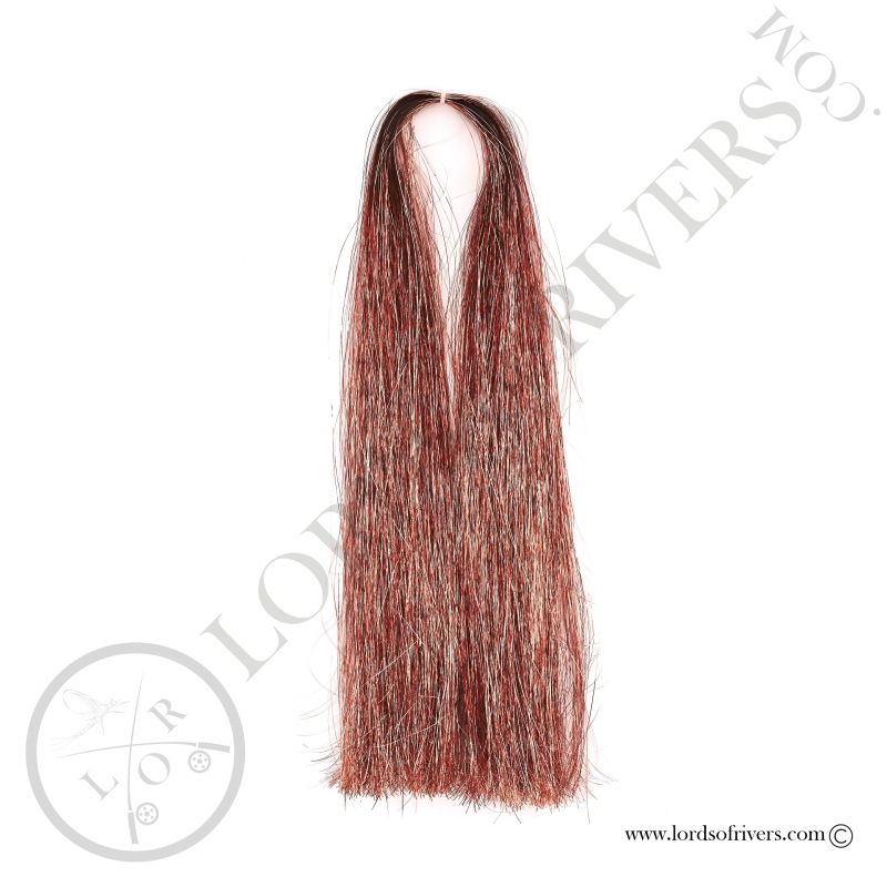 Flashabou Thin 60 cm / 23.62 in Lords Of Rivers Copper