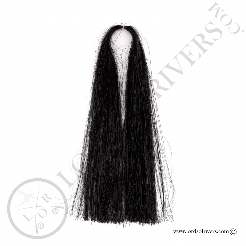 Flashabou Thin 60 cm / 23.62 in Lords Of Rivers Black