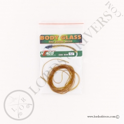 Body Glass Half Round Micro Hends Olive Brown