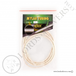 Mylar Tubing Hends White Pearlescent