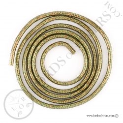 Mylar Tubing Tinsel Hends Olive