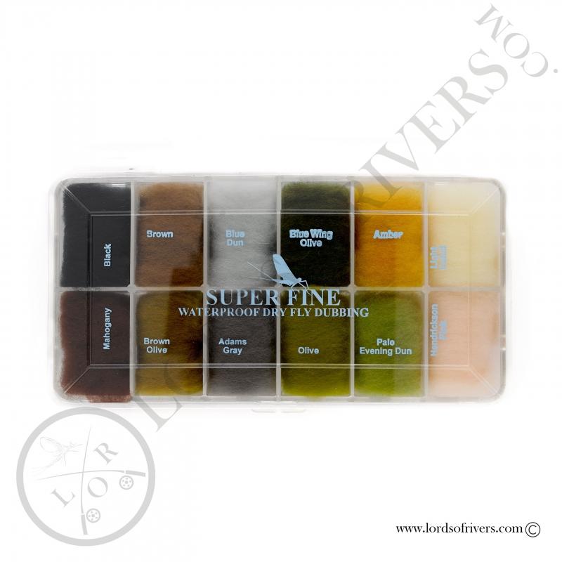 Dispenser dubbing mouches sèches - Super Fine Dub - Hareline