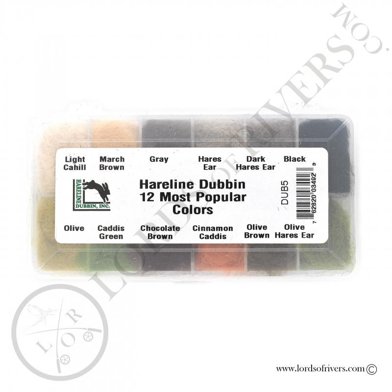Dispenser dubbing de lièvre Hareline Dubbin