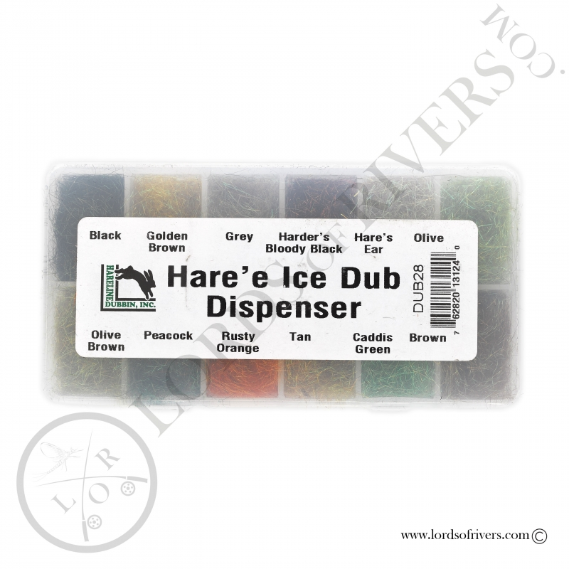 Hare'e Ice Dub dispenser Hareline
