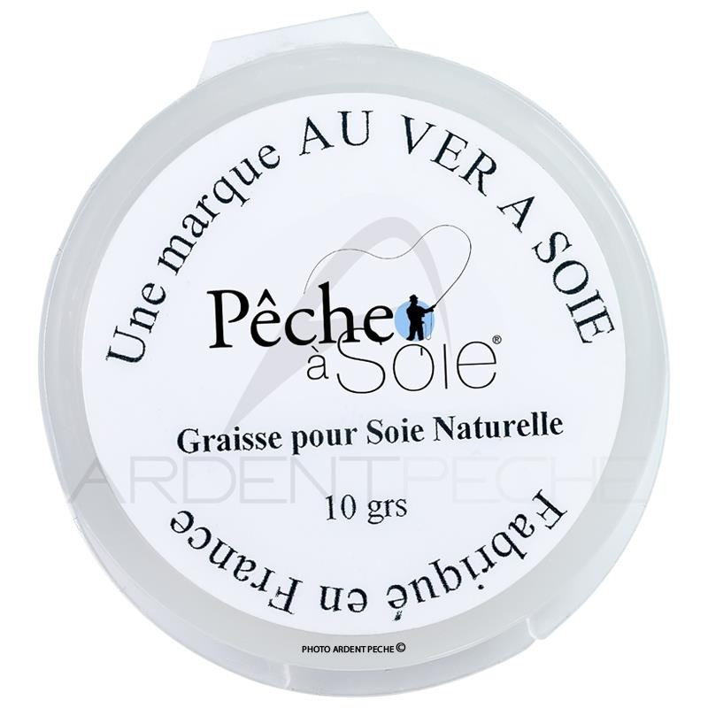 Natural silks grease box 10G Pêche à soie