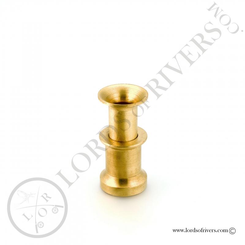 Brass hair stacker medium model Lords of Rivers