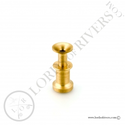 Brass hair stacker small model Lords of Rivers