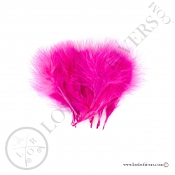 Marabou feathers Standard Lords of Rivers - 20 feathers - Pink