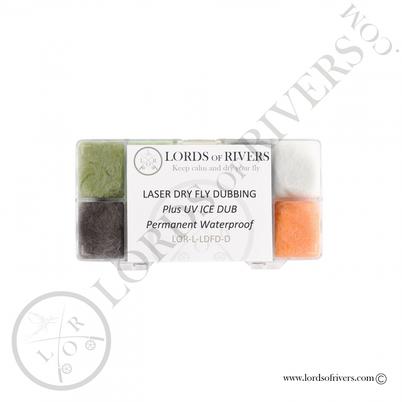 Dispenser Laser Dry Fly Dubbing Lords of Rivers