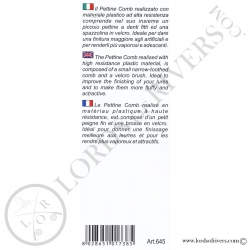 Peigne/brosse pour mouches et streamers Stonfo - Notice verso
