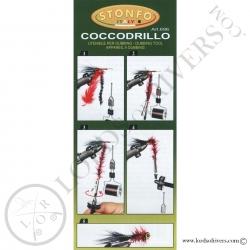 """Dubbing Twister """"Coccodrillo"""" Stonfo - Instructions recto"""