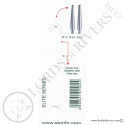 Conical finisher - Half Hitch tool Elite Stonfo Instructions recto