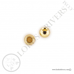 Brass Beads gold Lords of Rivers - Gold