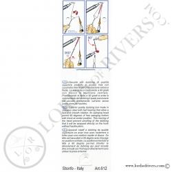 Twister à dubbing rotatif - RotoDubbing Elite Stonfo - Notice recto