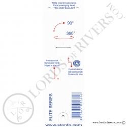 Twister à dubbing rotatif - RotoDubbing Elite Stonfo - Notice verso