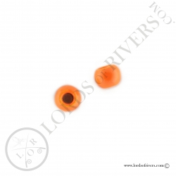 Tungsten Beads fluo orange Lords of Rivers