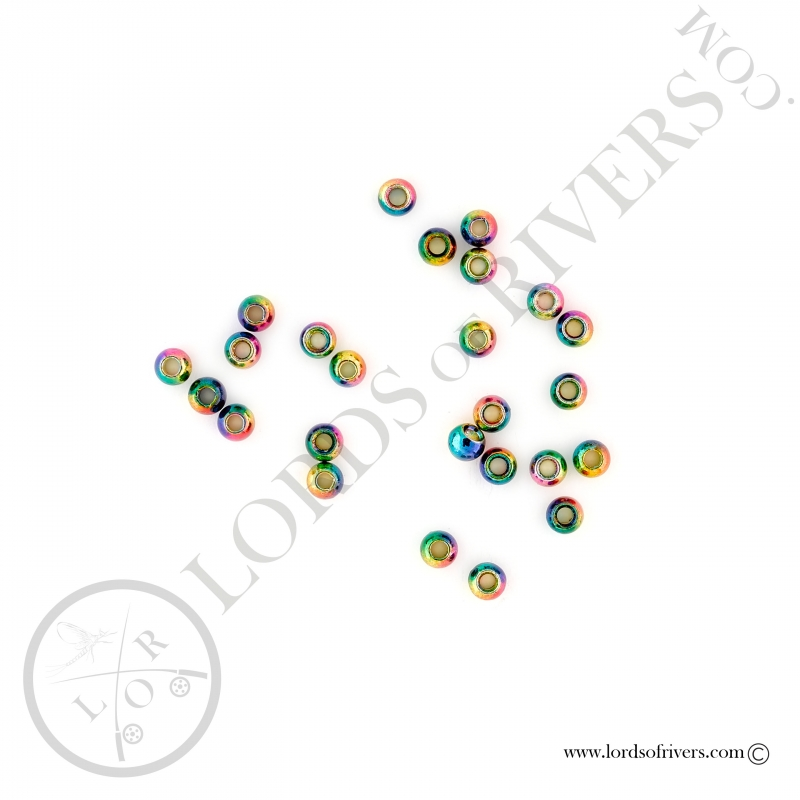 Tungsten Beads metallic rainbow Lords of Rivers