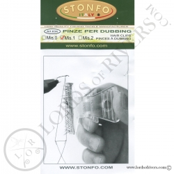 Pinces cdc/Poils Taille 1 Stonfo - Notice recto