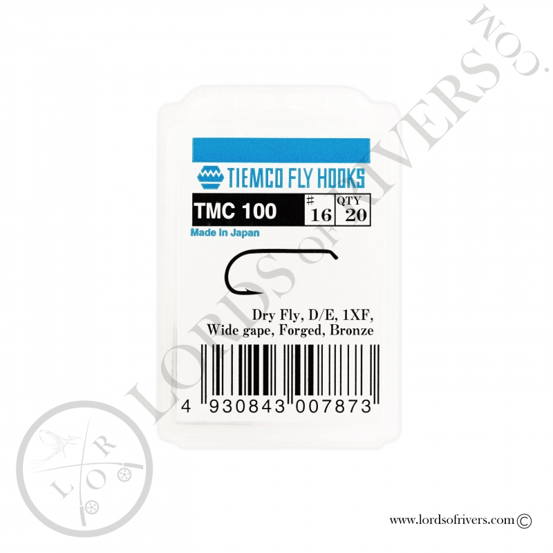 Dry fly hook Tiemco TMC 100 - Pack
