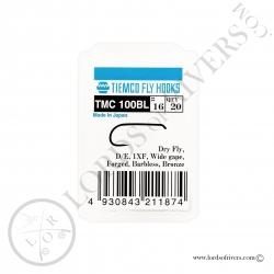 Hameçons mouches sèches Tiemco TMC 100-BL - Pack