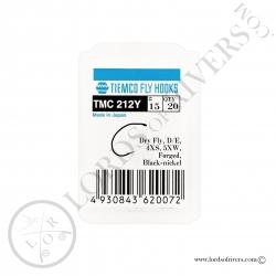 Hameçons mouches sèches Tiemco TMC 212Y - Pack