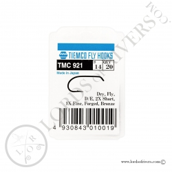 Dry fly hook Tiemco TMC 921 - Pack
