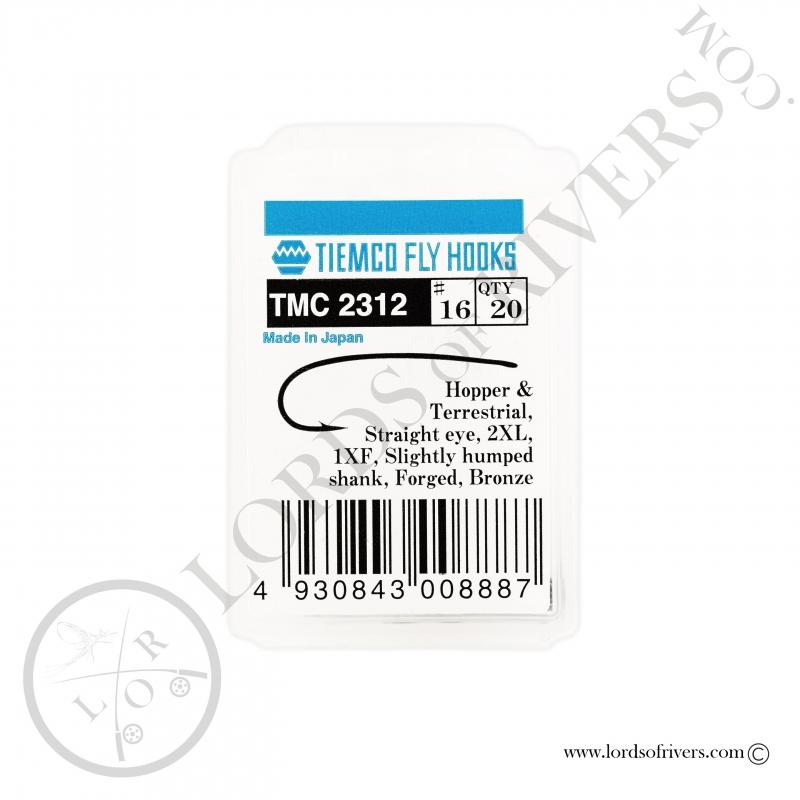 Dry fly, streamers, nymph hook Tiemco TMC 2312 - Pack
