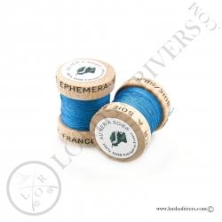 Ephemera Silk Au Ver à Soie Blue