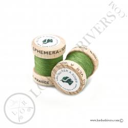 Ephemera Silk Au Ver à Soie Green