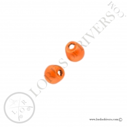 Tungsten Jig off Beads fluo orange Lords of Rivers