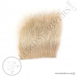 Elk body hair Veniard - Bleached