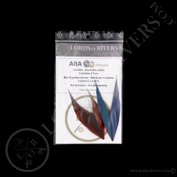 TryMe Macaw -2 sections of 1,97 inch Ara
