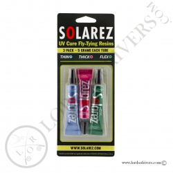 Solarez Fly Tie 3 pack - 15 total grams Pack