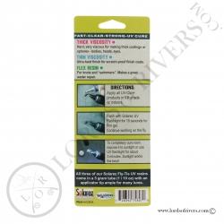 Solarez Fly Tie pack 3 tubes de 5 grs verso