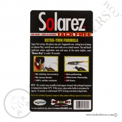 Solarez BONE DRY Ultra Thin Formula Instructions